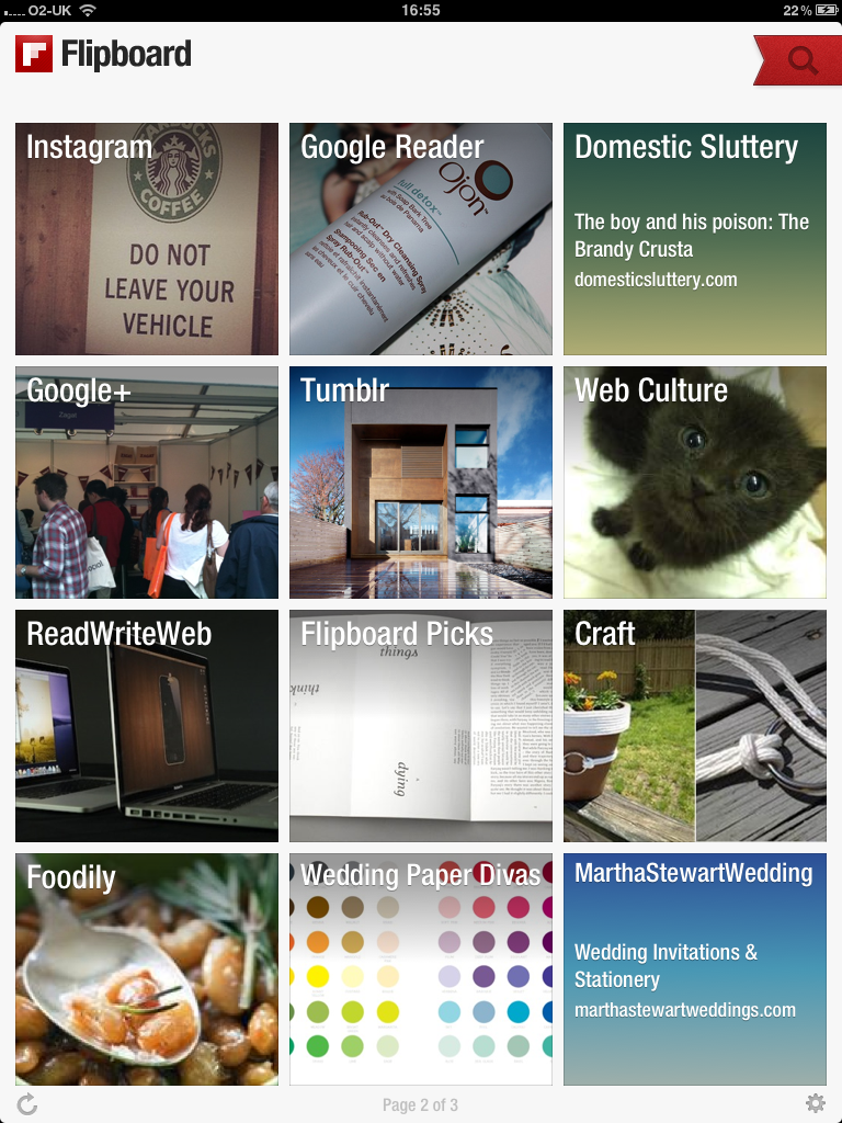 Flipboard continues to be a blogger's best friend