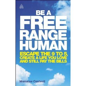 Freelance book of the month: Be A Free Range Human