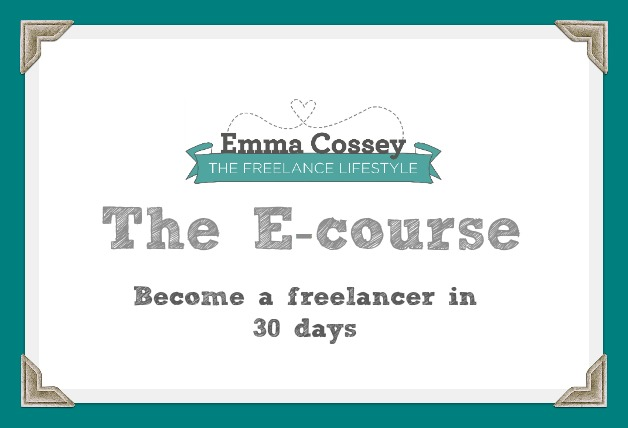 Take part in The Freelance Lifestyle Ecourse in November!