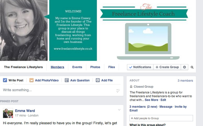 Join The Freelance Lifestylers Facebook group!