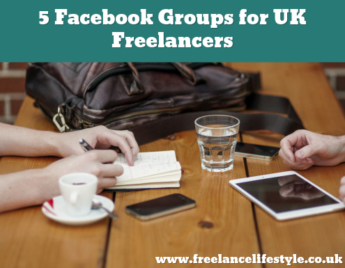 Five Facebook groups for UK Freelancers