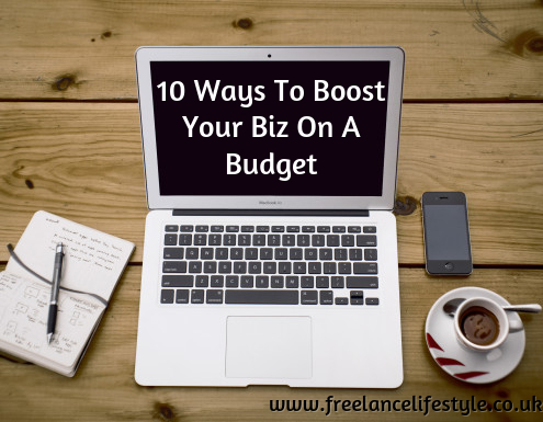 10 ways to boost your biz on a budget