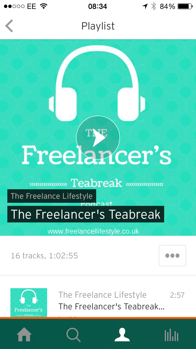 Return of the podcast: The Freelancer's Teabreak