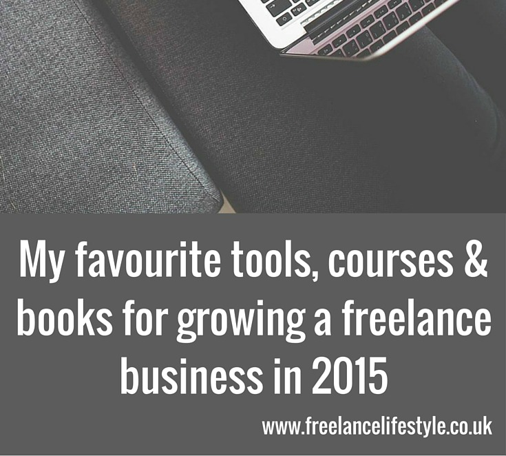 My freelance favourites for growing my business in 2015