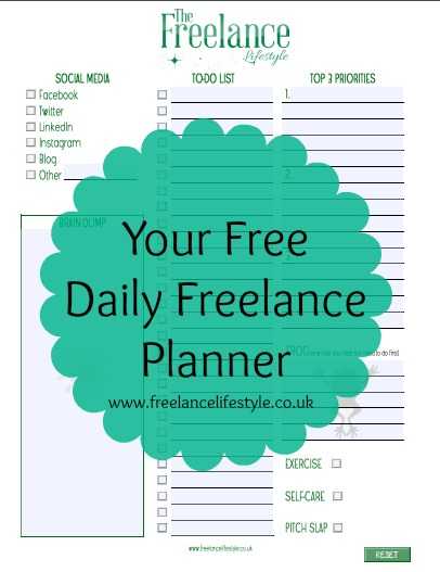 Protected: Freebie for Newsletter Subscribers: Your Freelance Daily Planner