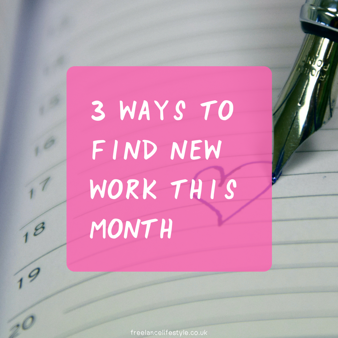 Three ways to find new work in April