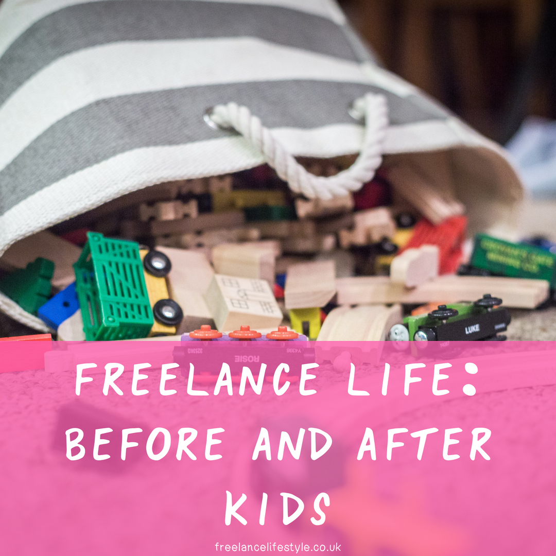 Freelance Life: Before and After kids