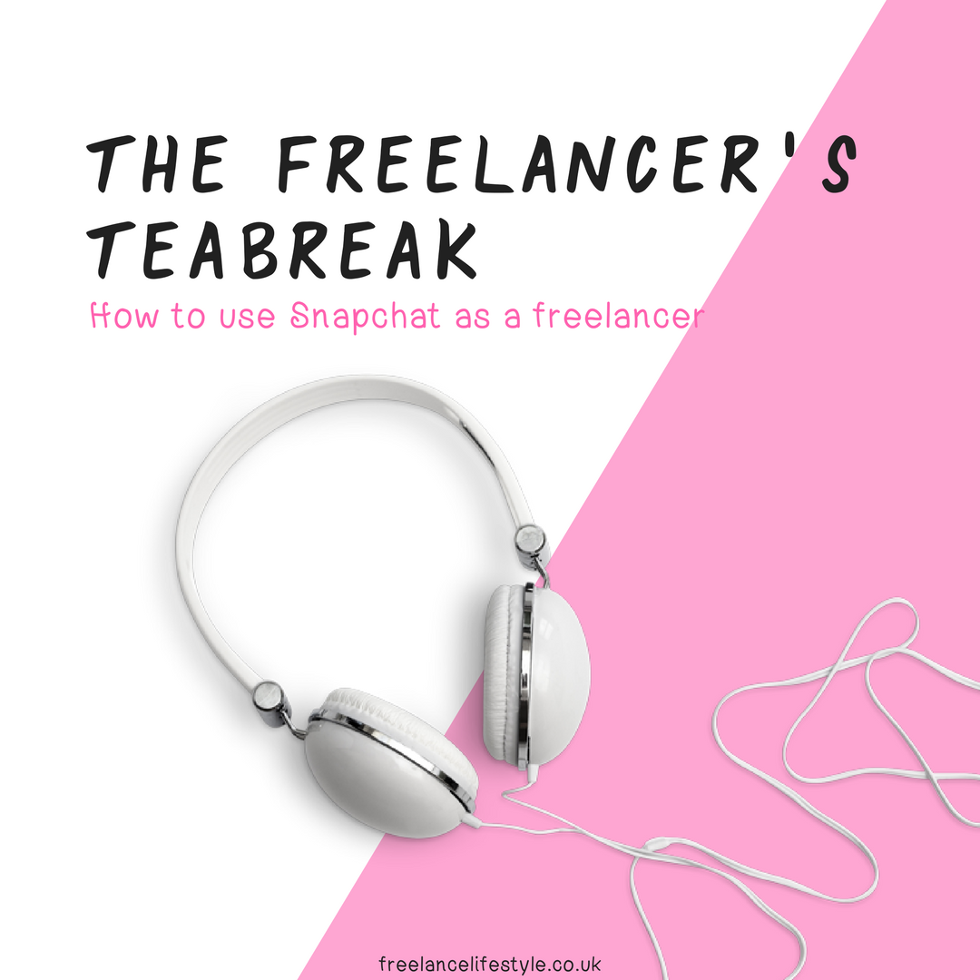 How to use Snapchat as a freelancer (podcast)