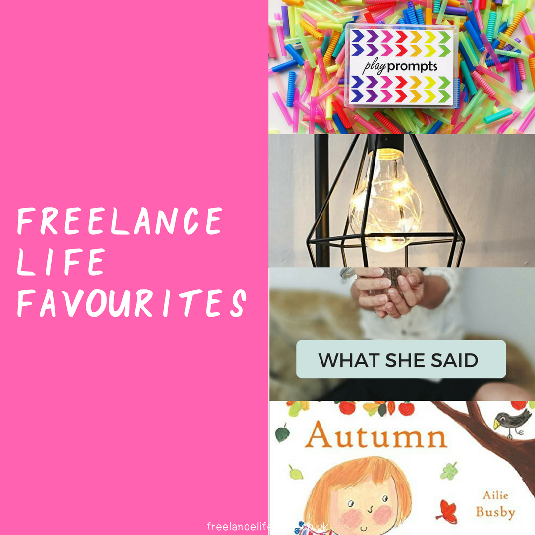 Freelance Life Favourites: September
