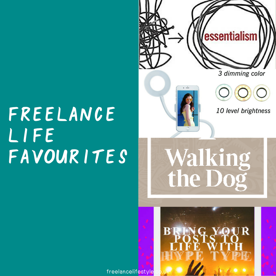 Freelance Life Favourites: October