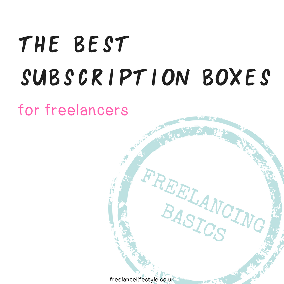 The best subscription boxes for freelancers