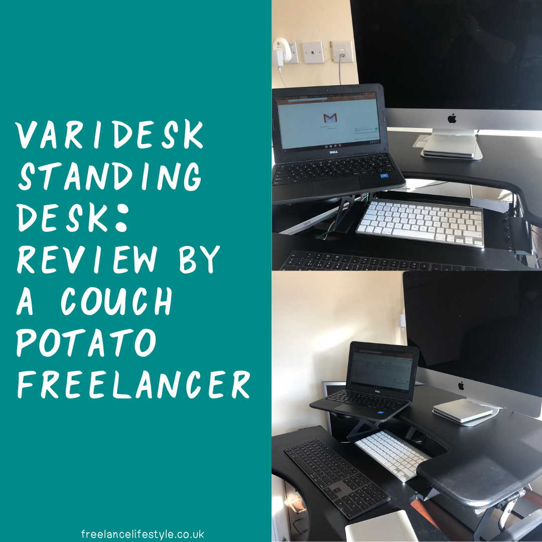 Standing desks : A review by a couch potato freelancer (gifted)